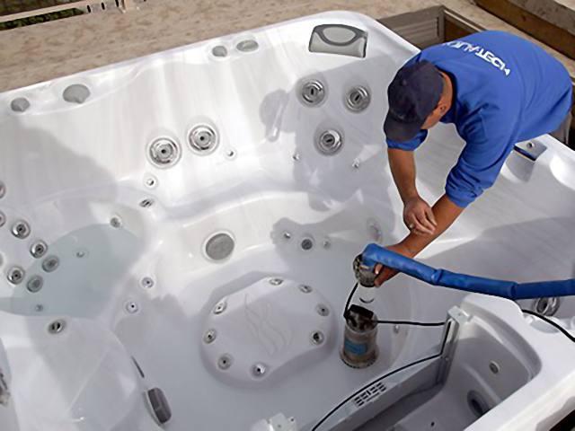Установка и обслуживание спа бассейна в Крыму